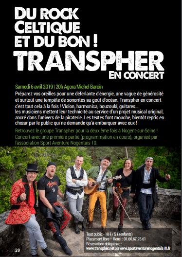 Transpher à Nogent sur Seine 2019
